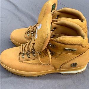 Timberland wheat euro hiker boot